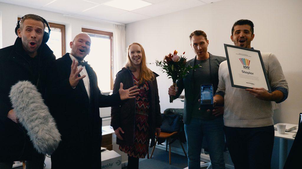 100 grader Karlstad 2020 Årets digitala välfärdsinnovation
