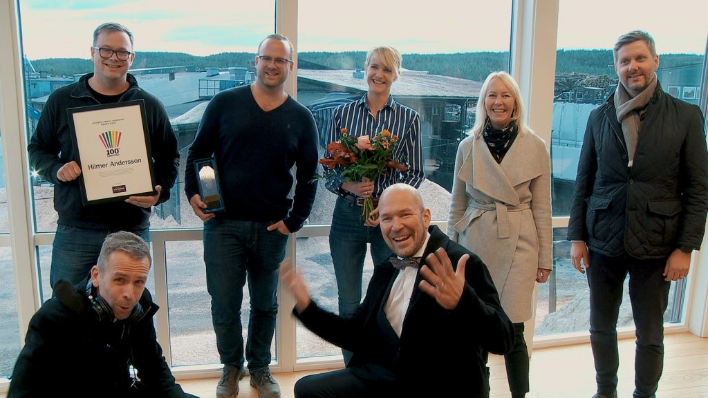 100 grader Karlstad 2020 Löfbergs Family Business Award