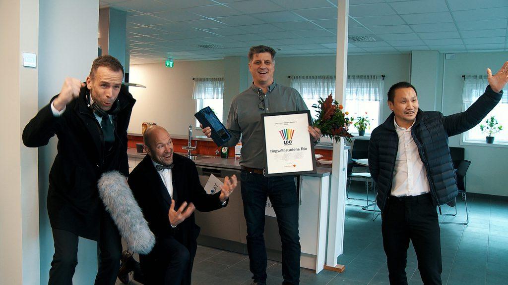 100 grader Karlstad 2020 Swedbanks företagspris
